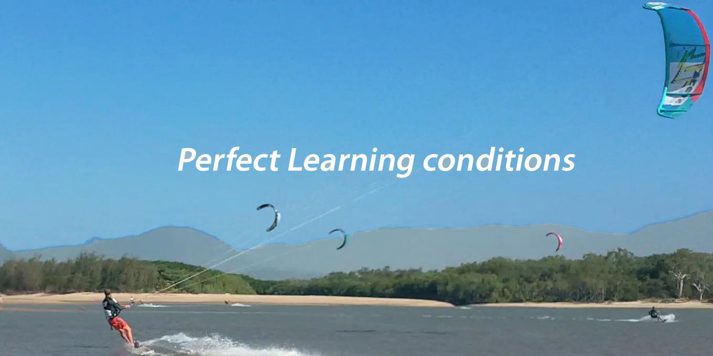 Kitesurfing in Australia, Yorkeys Knob, Cairns