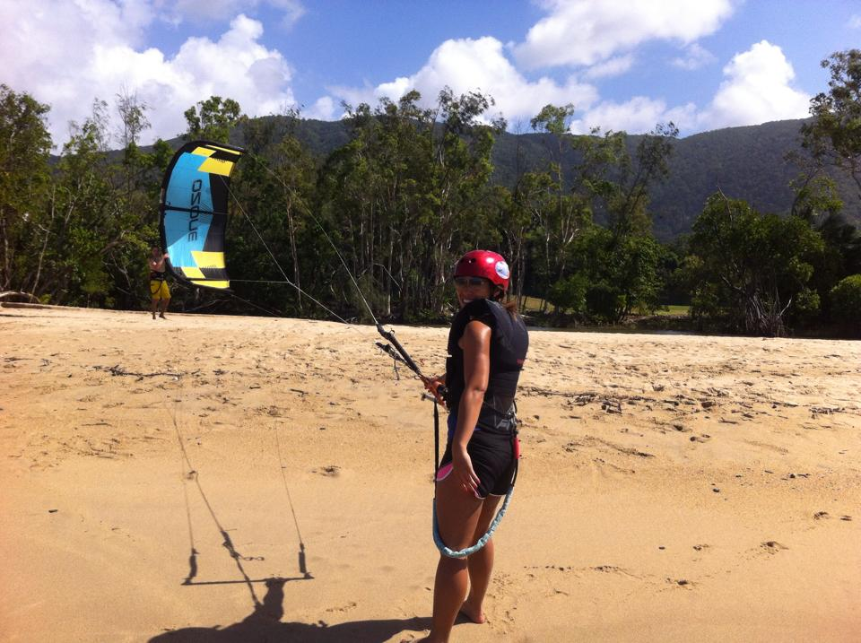 Kitesurfing conditions in Cairns