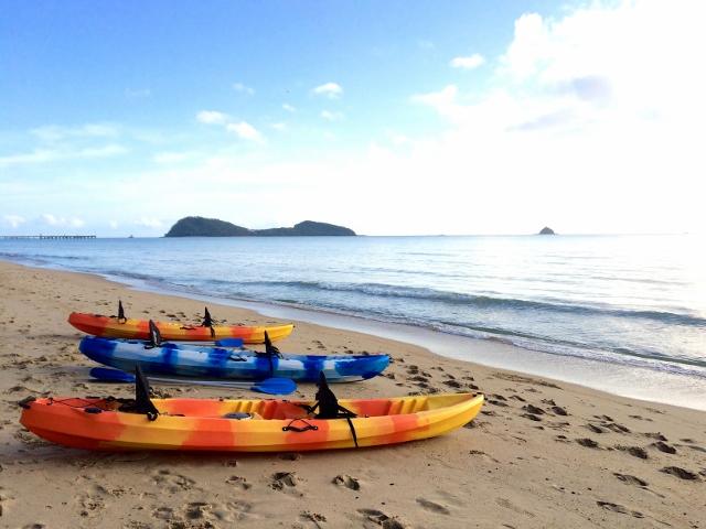 Kayaking Double Island Palm Cove