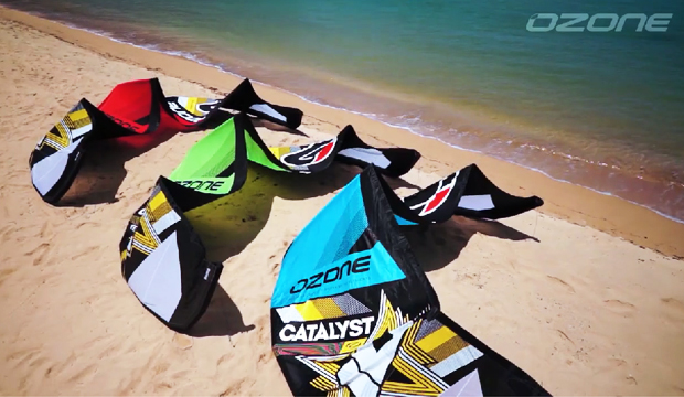 Ozone Catalyst 2015 – the perfect all-round kite